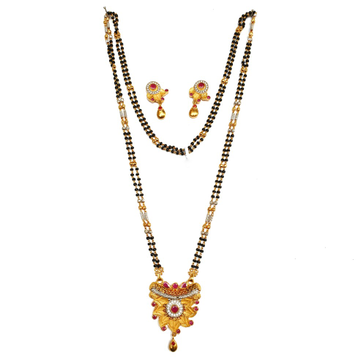 One gram gold forming mangalsutra mga - mse0121