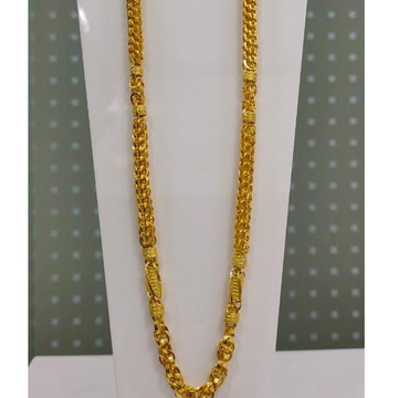 916 Gold Gents Indo Chain by