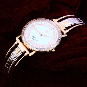 18kt Rose Gold  Stylish  Hallmark Watch RLW143