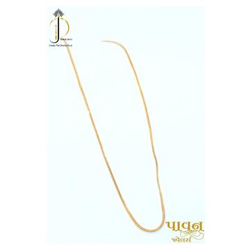22KT / 916 Gold Delicate Fancy chain For Unisex  CHG0364