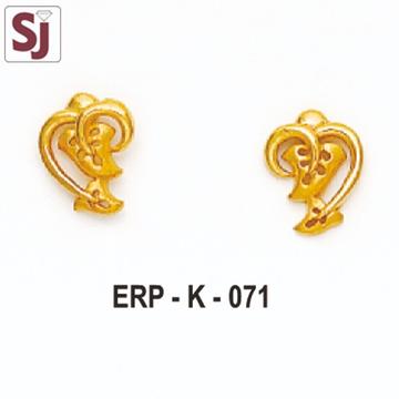 Earring Plain ERP-K-071