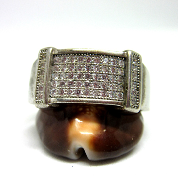 Silver 925 dailywear ring for gents sr925-198
