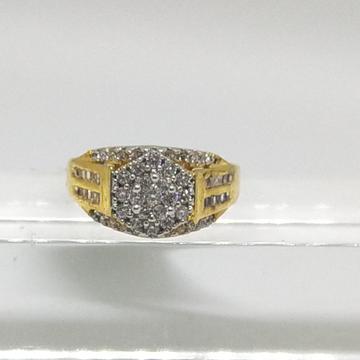 22K diamond studded ring by