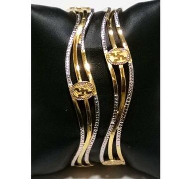 22KT Gold Designer Fancy Copper Kadli by