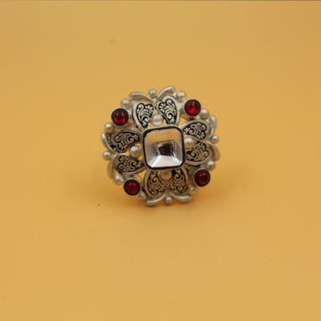 92.5 ANTIQUE SILVER RING SL R032