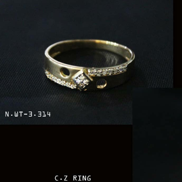 18kt gents ring