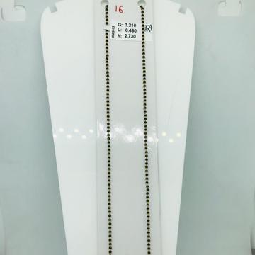 916 micro beads mangalsutra mms73