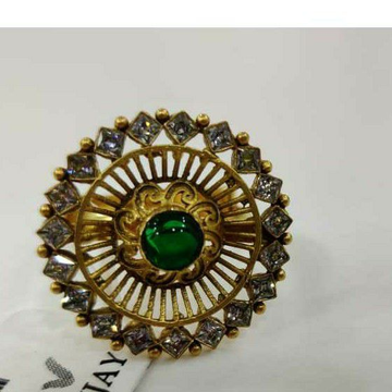 916 antique stone gold ring by