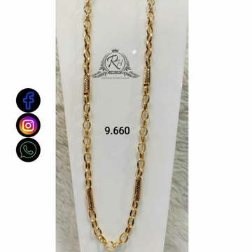 22 Carat Gold Gents Chain RH-CH775