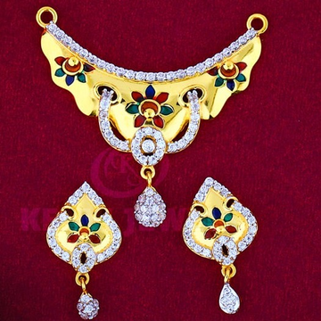 916 Gold Mangalsutra Pendal with Butti MSP-002