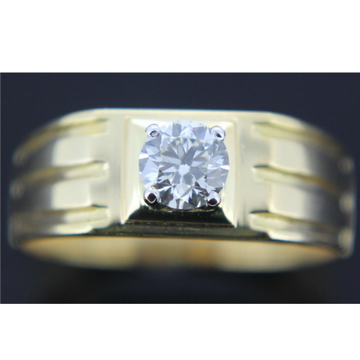 916 gold fancy solitaire ring gk-r01