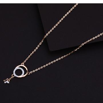 750 Rose Gold Designer Necklace RTM82