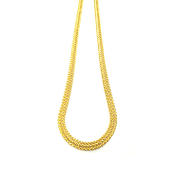22kt gold classic gents thick chain