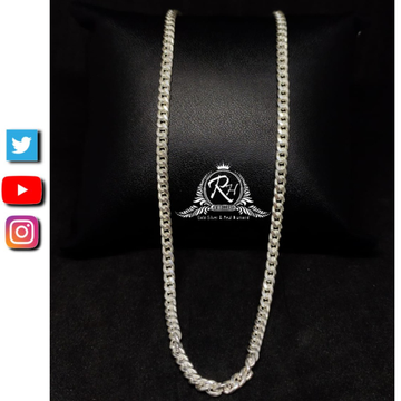 92.5 silver sterling new layering gents chain rh-CH456