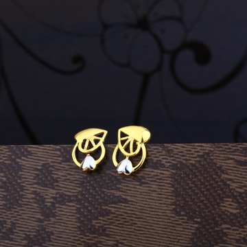 Ladies 22K Gold Casting Earring -LPE45