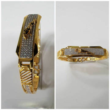 22k Fancy Gold Jaguar Bracelet G-3421
