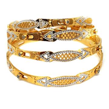 One gram gold forming bangles mga - gf0035