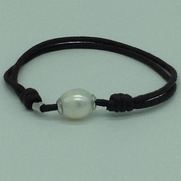 White OvalPearls ThreadBraceletJBG0177