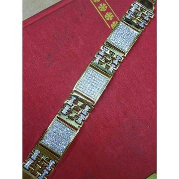 22K / 916 Gold Gents Modern Bracelet ( Lucky )