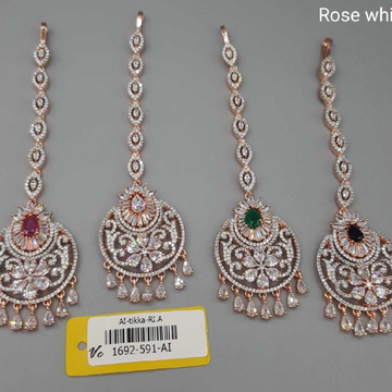 Diamond rose goldtikka#385