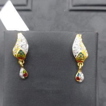 cz fancy earring by Parshwa Jewellers
