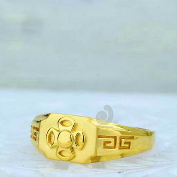 916 Gold Plain Casting Ring