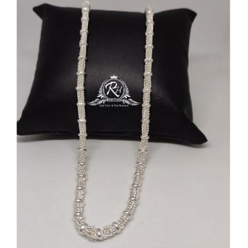 silver fancy gents chain RH-CH891