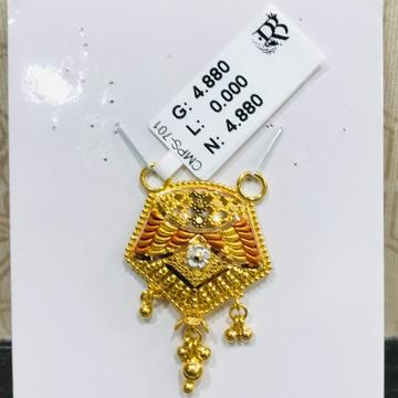 22 carat gold ladies mangalsutra RH-MN760