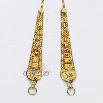 Gold Earchain SK - K033