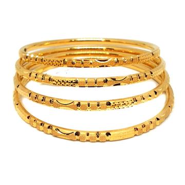 One gram gold forming bangles mga - gf0032