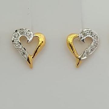 Cz heart buti by Madhav Jewellers (TankaraWala)