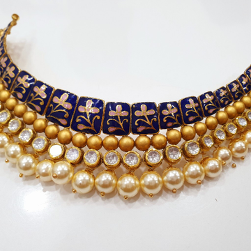 Antique Jadtar Kundan Bikaneri Set