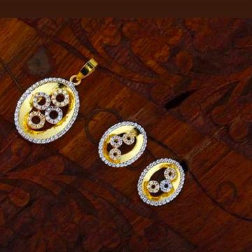 916 gold chain pendalset RH_pset64