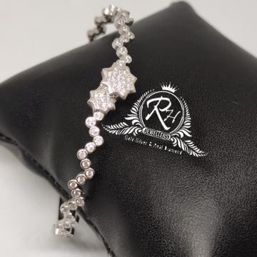 silver 92.5 daimond fancy ladies kada Rh-Lb925