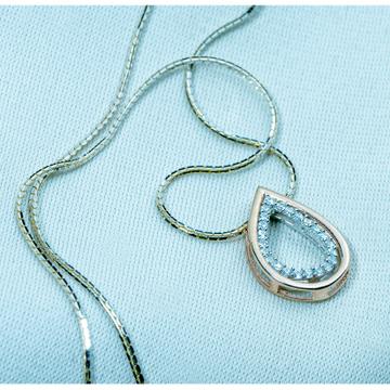 Silver trendy Pendant Chain  dk1-236 by