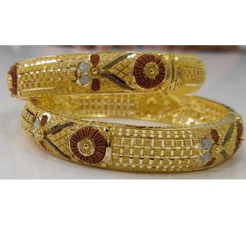 22KT Calcutta Designer Gold Bangles