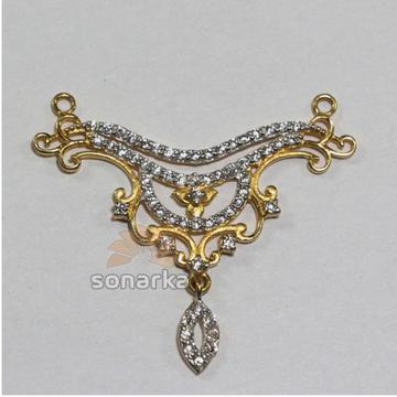 american Diamond 916 Gold Mangalsutra Pendants by