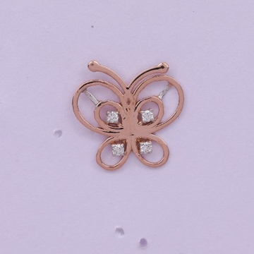 18 carat gold real daimonds ladies earrings RH-LE969