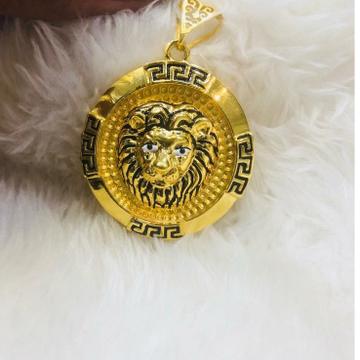 916 gold chain pendant gp=-0007