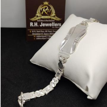 SILVER gents stylish bracelet RH-BL685