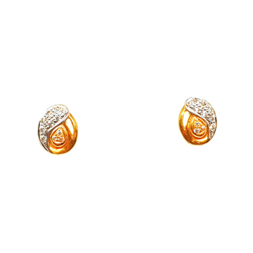 22K Gold Modern Earrings MGA - BTG0232