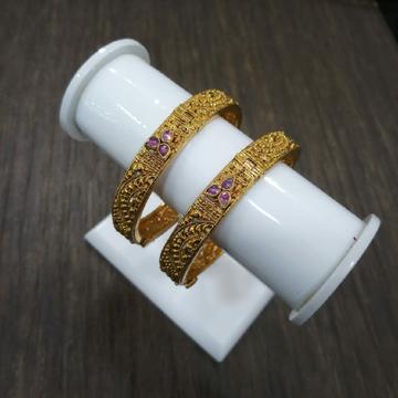 Gold Forming Handmade Kada