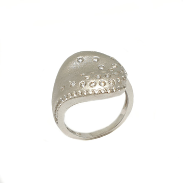 925 Sterling Silver Fancy Ring MGA - LRS3502