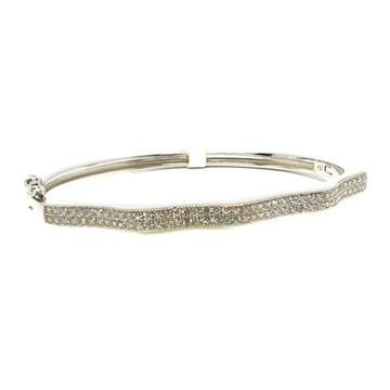 925 Sterling Silver Little Kids Bracelet MGA - BRS0372