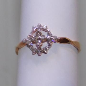18K gold diamond ring agj-lr-241