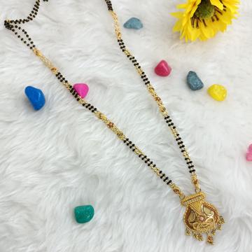 916 GOLD REGULAR CULCUTTI MANGALSUTRA by Ranka Jewellers