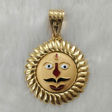 916 Gold Fancy Gent's Surya Pandal