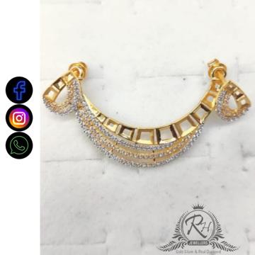 22 carat gold classical ladies pendants RH-PD872