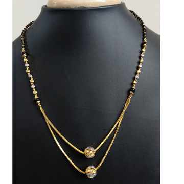 22KT Gold Classic mangalsutra PJ-0258 by Parshwa Jewellers