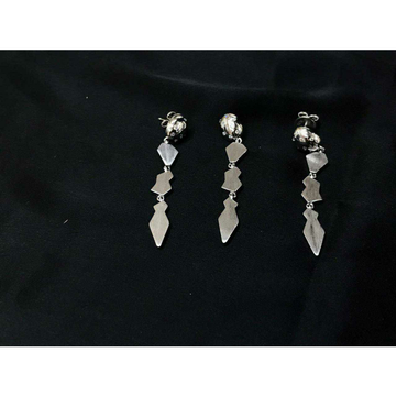 92.5 Sterling Silver Rodyam Earring Set Ms-3849